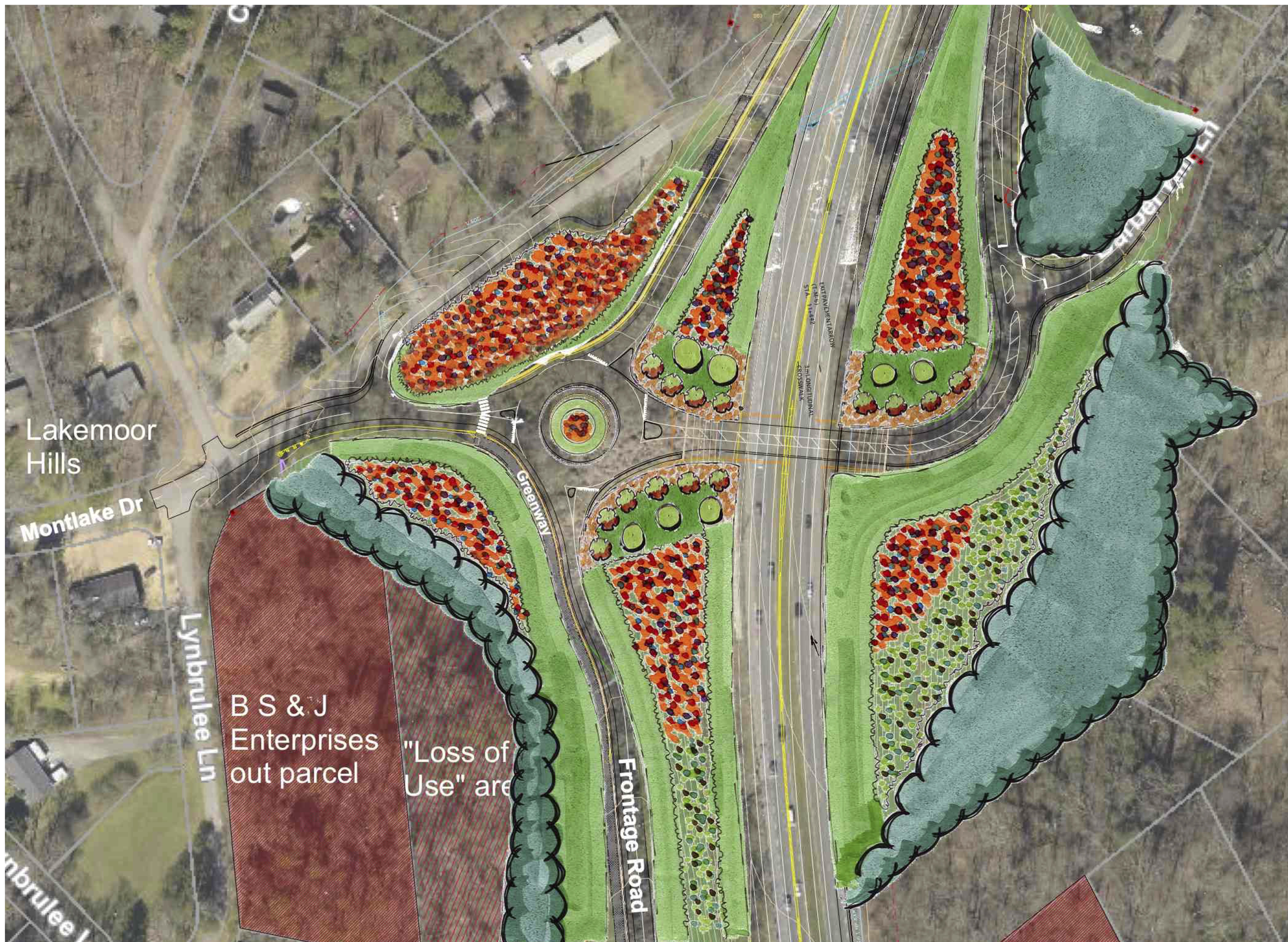 """Featured image for """"Alcoa Highway – Landscape Plan"""""""